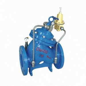 YX741X Adjustable Pressure Reducing And Sustaining Valve