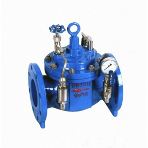 LZ300X Water Power Control Slow Closing Check Valve