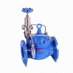 LZ500X Safety Pressure Relief Sustaining Valve