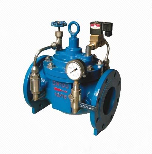 LZ600X Piston type remote electric hydraulic control valve