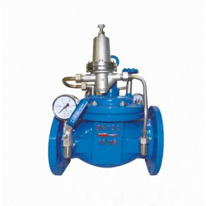 LZ800X Automatic Cast iron pressure regulating balance valve