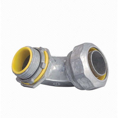 Electrical Conduit Fittings 90 Degree Angle Liquid Tight Connector