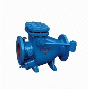 HH44X Cast Iron Micro Resistance Slow Closing Check Valve