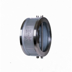 HD76X/ H Cast Iron Wafer Dual Plate Wafer Butterfly Check Valve