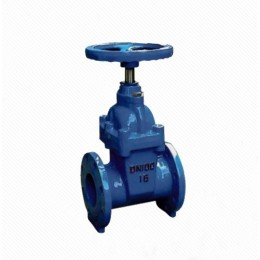 RVHX Cast Iron Flanged Ends Rising Stem Resilient Soft Seated Gate Valves