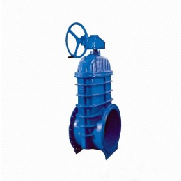 RRHX RVHX Large diameter handwheel gear operated ductile iron flange type resilient gate valve