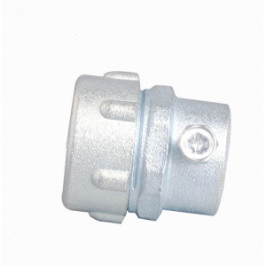 MKJ Zinc alloy metal plum male conduit connector