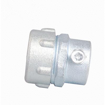 MKJ Zinc alloy metal plum male conduit connector