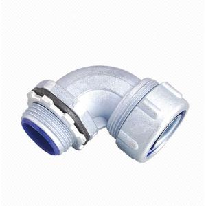 Plum Type 90 Degree Flexible Conduit Connector