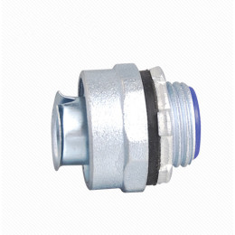 Simple Flexible Conduit Coupler- Zinc/Aluminum
