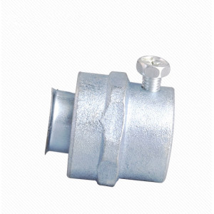 Simple Flexible Conduit Coupling- Zinc/Aluminum