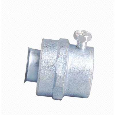 Simple Flexible Conduit Coupling- Zinc/Aluminum