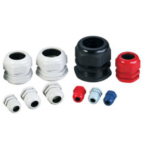 Nylon / PP Plastic Cable Connector