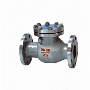 H44H/Y  API 6D Non return Clappet Cast steel Swing Check Valve