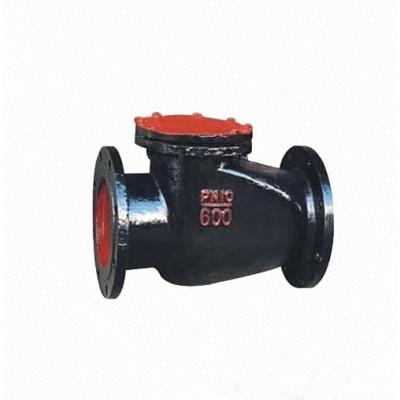 H44X/T ANSI/API 125lb Cast iron flange end swing check valve