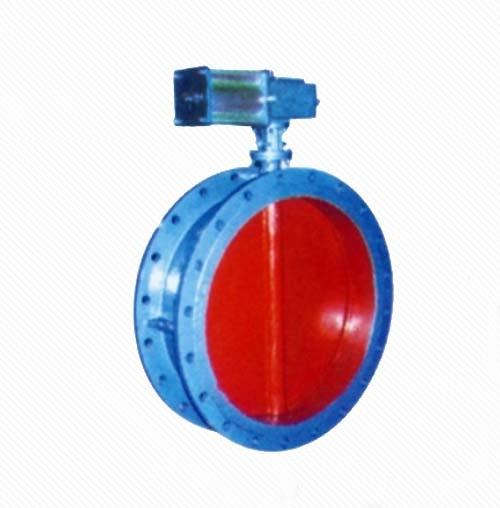 DT641W Pneumatic Flange Ventilation butterfly valve