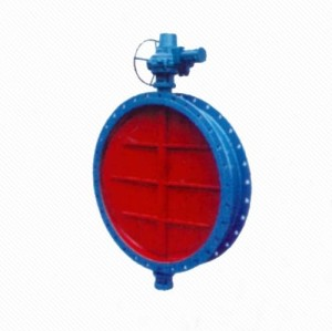 DT941W Manual/Electric Ventilation Butterfly Valve