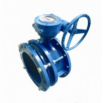 DS341 Expansion Telescopic flange butterfly valve