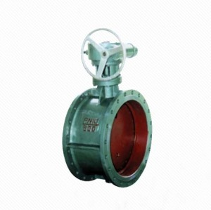 D341X/J Ductile Iron Flange Type Worm Gear Rubber Seal Center Line Butterfly Valve