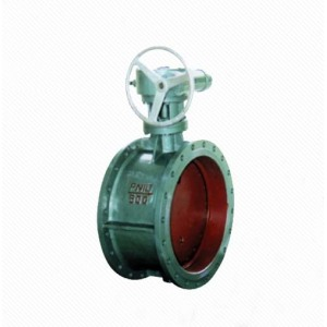 D341X/J Worm Gear Rubber Seal Manual Flange Center Line Butterfly Valve
