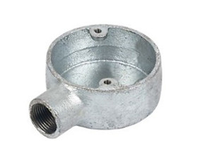 Malleable iron conduit Terminal Box-One Way