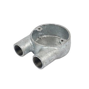 Malleable iron U Box-Two Way