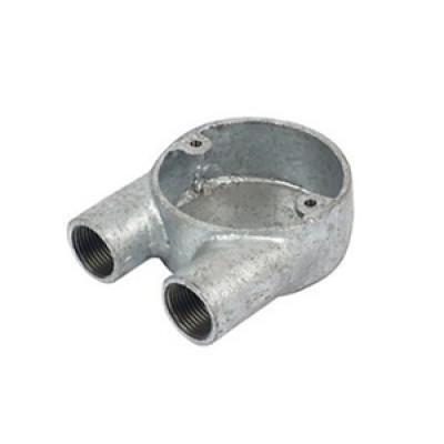 Malleable iron U Box-Two Way