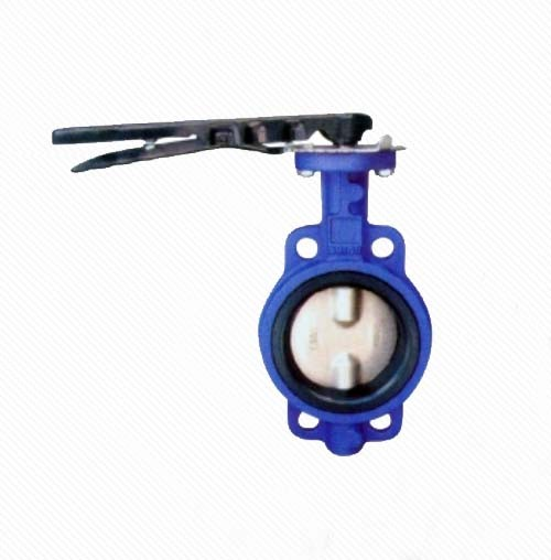 D72X/J Wafer Type Eccentric Rubber Seal Butterfly Valve with Hand Lever