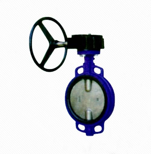 D372X/J PN16 Wafer type stainless steel rubber seal butterfly valve