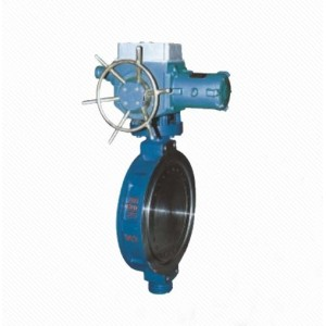 D972X/J Zero leakage wafer type double eccentric resilient seated butterfly valve