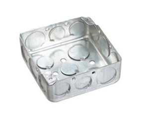 Square steel Electrical junction Box
