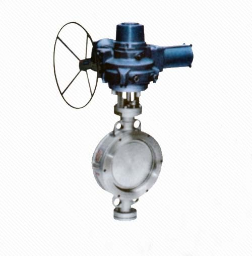 DT973H Eccentric Elastic Metal Seal Wafer Electric Butterfly Valve