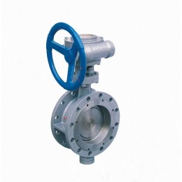 Dd343H Triple Eccentric Multi-layer Metal Seal Flanged Butterfly Valve