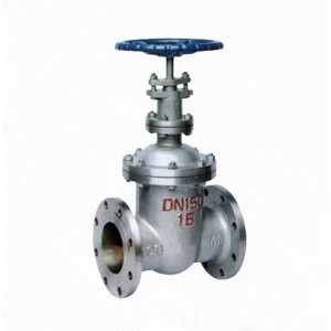 Manual API 150lb /300lb/600lb Cast Iron Non Rising Stem Gate Valve