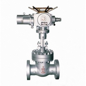 Motorized Non Rising Stem Gate Valve