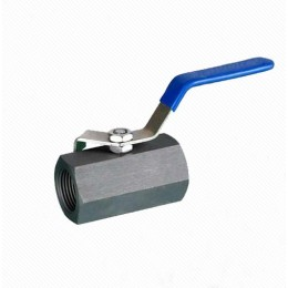 Q11F 1PC Carbon steel Hexagon Forged Ball valve