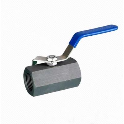 Q11F 1PC Carbon steel Hexagon Forged Ball valve