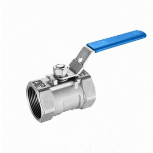 Q11F 1PC mounting pad Internal thread stainless steel ball valve