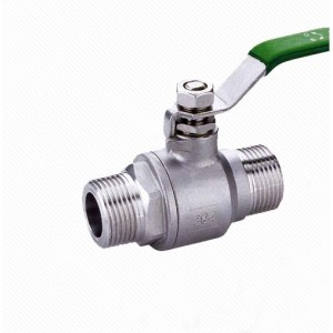 Q11F Stainless Steel Screw end 2PC Ball Valve, Male female Thread, SS316
