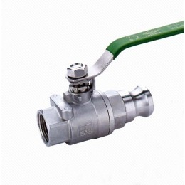 Q11F 2PC Quick Stainless Steel Clamp Ball Valve
