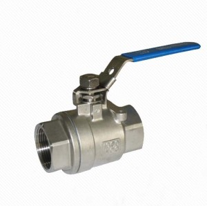Q11F CF8M 2PC BALL VALVE 1000WOG