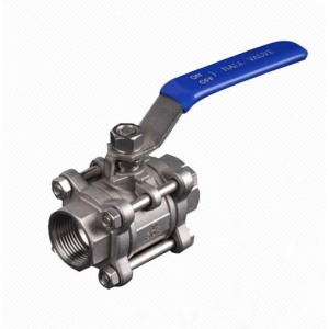 Q11F 3PC Stainless Steel BSP Inner Thread Ball Valve