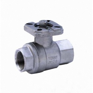 Q11F CF8M stainless steel 2pc ball valve