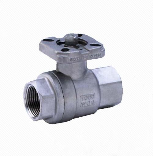 Q11F CF8M stainless steel 2pc ball valve