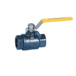 1000PSI 6.4MPa WCB Carbon steel two piece model ball valve
