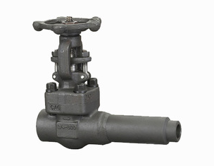 DN15- DN50 API Forged Steel Extended Body OS&Y Gate Valve