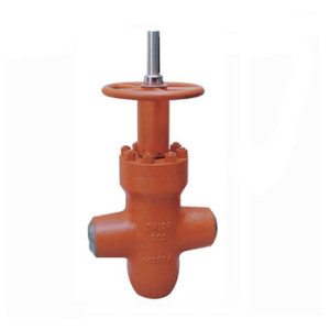 High pressure WCB oil gate valve