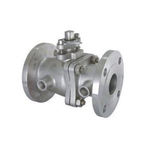 WCB steam insulation jacket flanged chemical resistant ball valve