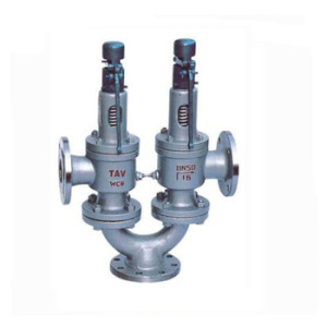 Twin Spring Loaded Pressure Safety Relief Valve