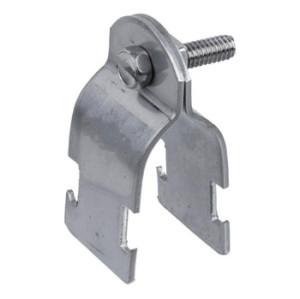ECC Type Galvanized Steel Pipe Strut Clamp with Fixing Screw